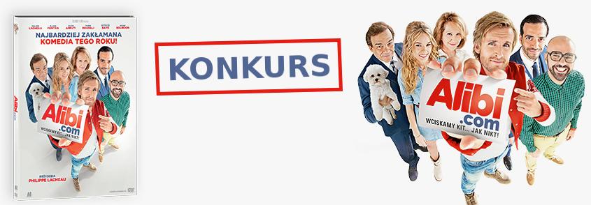 KONKURS Alibi.com - DVD